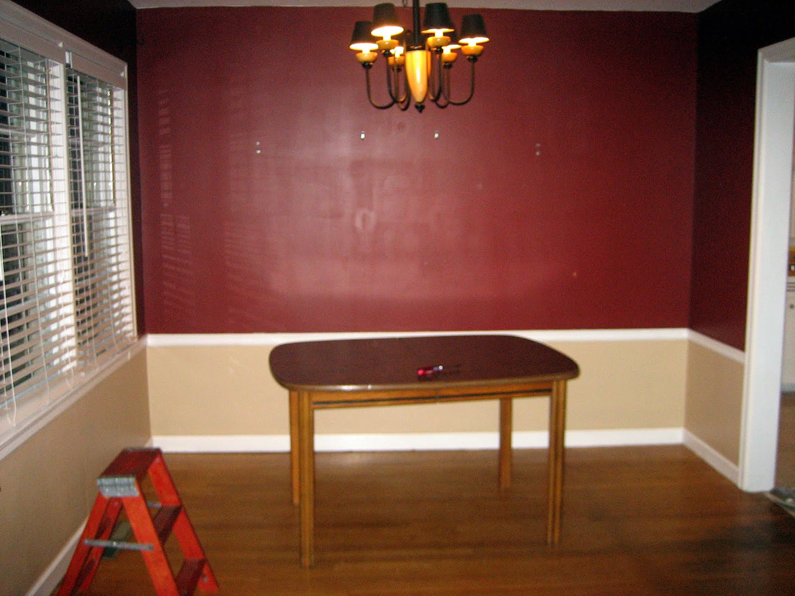 dining room color schemes chair rail. Chair Rail Dining Room. Room Remodel: Guest R Color Schemes C