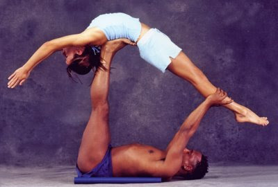 Theres An Animal Called Partner Yoga