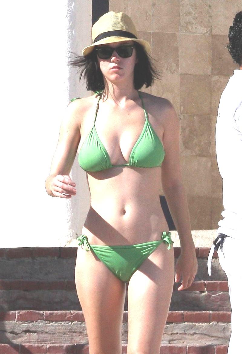 Katie Perry Green Bikini 118