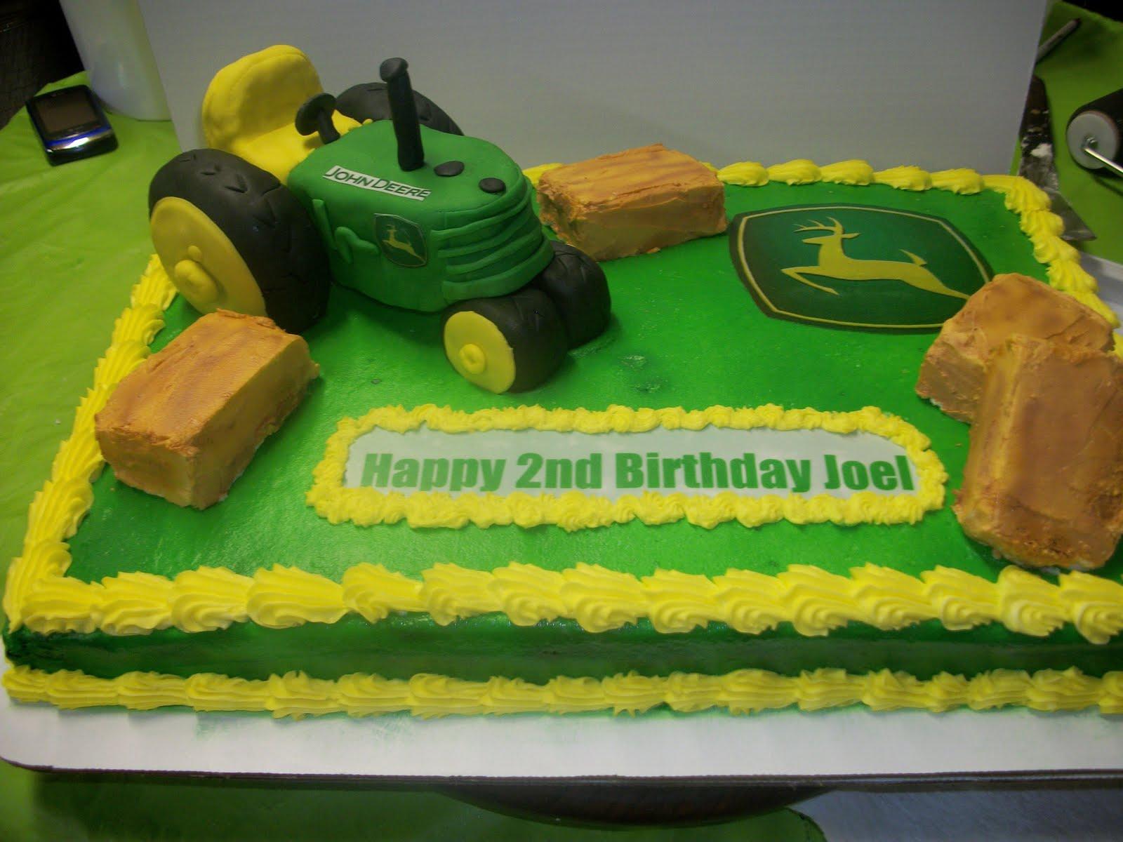 Tasty Cakes John Deere Birthday