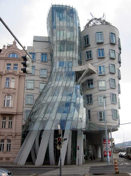 Façade Engineering Blog: The Dancing House in Prague ...