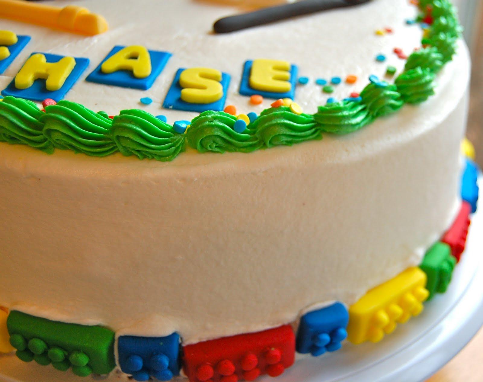 Chef Mommy Ninja Lego Cake