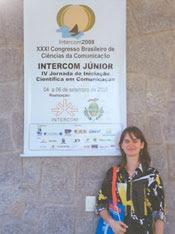 8b0ac844078 Larissa Ferretti fala sobre sua participação na Intercom 2008