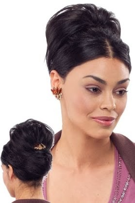 African American Wedding Hairstyles Amp Hairdos Pinned Updo