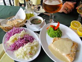 Chilean Lunch Santiago Chile