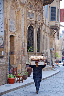 Bringing Bread to Market Isamic Cairo Egypt
