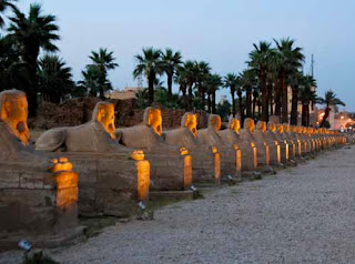 Avenue of Sphinx Luxor Temple Egypt