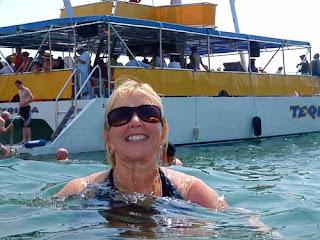 Warm Ocean Waters Huatulco Mexico
