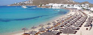 Platys Gialos Beach Mykonos Greece