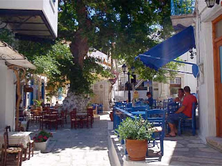 Beautiful Pirgos Tinos Greek Island Greece