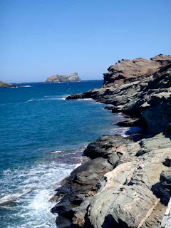 Kolimbithra Ocean Shore Tinos Greece