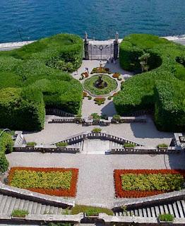 Gardens Villa Carlotta Tremezo Lake Como Italy