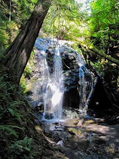 Cascade Falls Orcas Island Washington USA