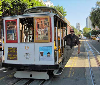 Wayne Dunlap Famous Cable Car San Francisco California
