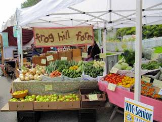 Farmers' Market Port Townsend Washington USA