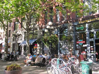 Pioneer Square Seattle Washington USA