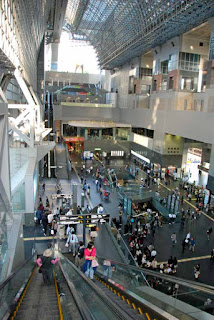 Modern Kyoto Train Station