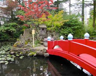 Japanese Gardens Aomori Japan