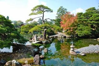 Japanese Gardens Katsura Imperial Villa Kyoto Japan