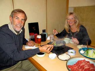 Wayne Pat Dunlap Sukiyaki Shabu-Shabu Japanese Japan Food