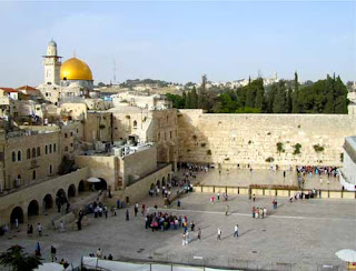 Temple Mount Wailing Wall Dome of the Rock Jerusalem Israel