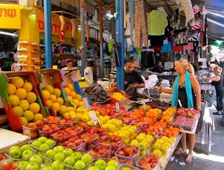 Pat Carmel Market Tel Aviv Israel