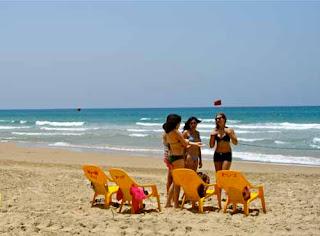 Dado Beach Haifa Israel girl girls bikini