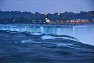 Horseshoe Falls Evening Niagara Falls New York USA