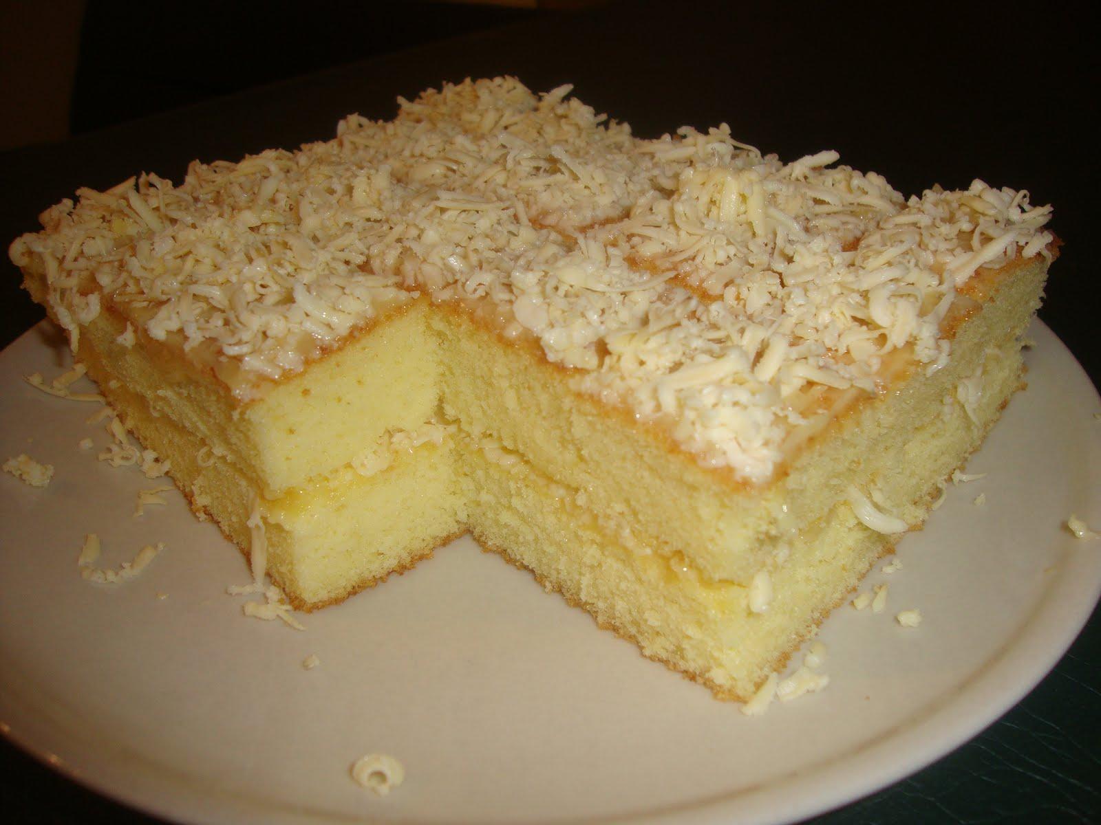 Resep Kue Bolu Keju