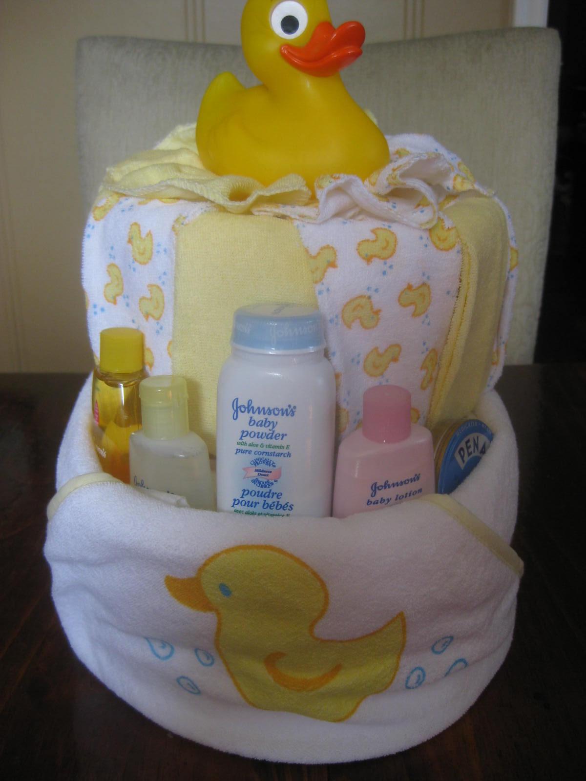 Second Generation Cake Design Bath Time Diaper Cakes