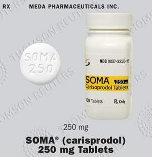 prescription name soma