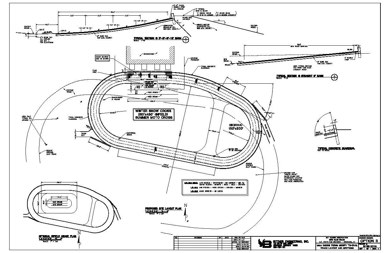 Upper Peninsula International Raceway Future Track Layout