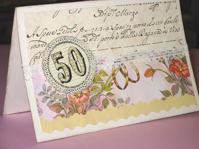 50 Anniversario Di Matrimonio Biglietti.50 Anni Di Matrimonio Cafe Creativo