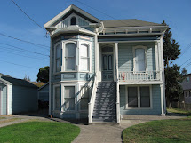 Beautiful Two Story Victorian House - Building Plans