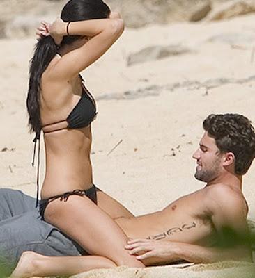 cf0d45249 ... (óbvio)  o moreno gostoso de The Hills - Brody Jenner (aqui fotografado  com a namorada coelhinha
