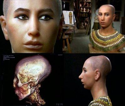 Resultado de imagen de tutankamon craneo