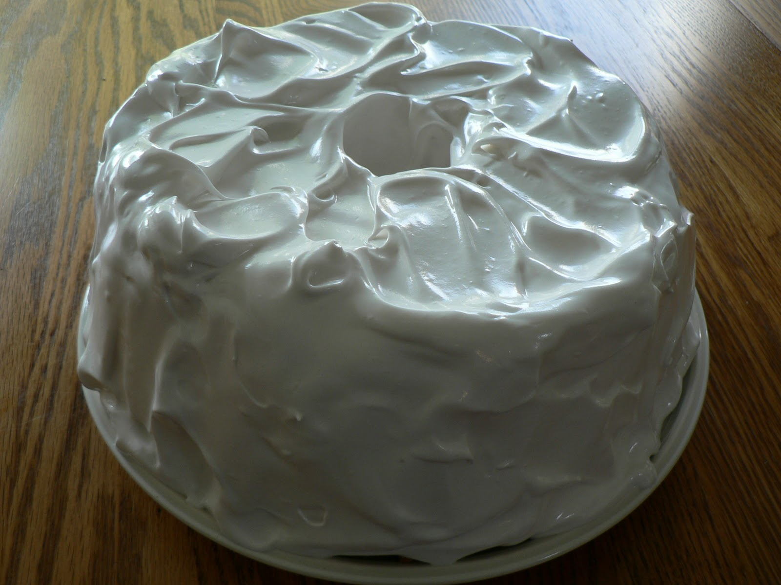 Sticky Frosting For Angel Food Cake
