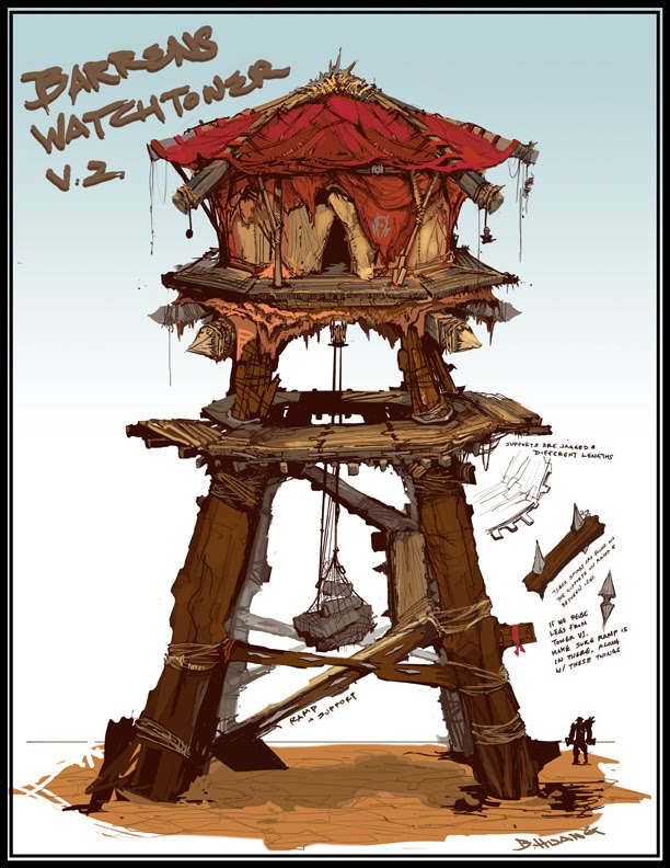 Horde Watchtower — polycount