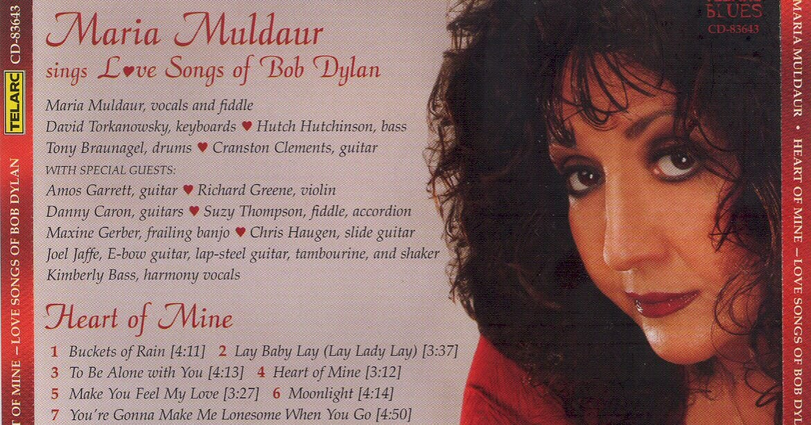 Dislocations: Heart of Mine by Maria Muldaur