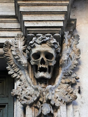 clerical whispers in macabre rome it's halloween all