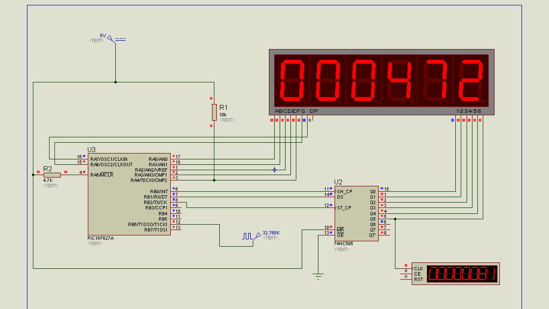 Zouhair Electronics: 6 Digits 7-Segment LED Multiplexing