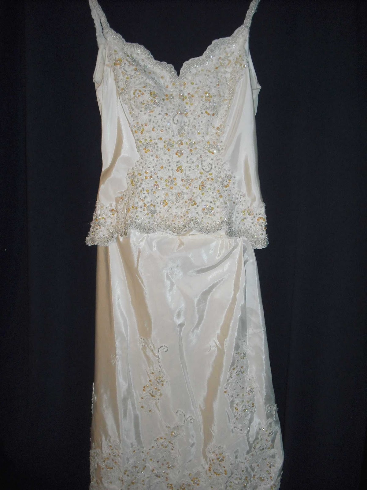 T.C. Chic: My Upcycled Wedding Dress