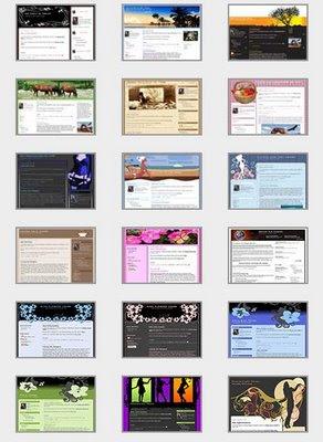 Link Template Blog Gratis Untuk Para Blogger