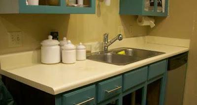 Progress Report Monday Kitchen Progress Countertops Sink Undercabinet Lighting