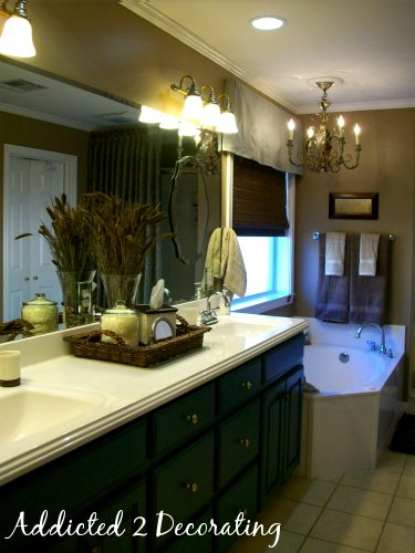 Gwens Master Bathroom  Addicted 2 Decorating