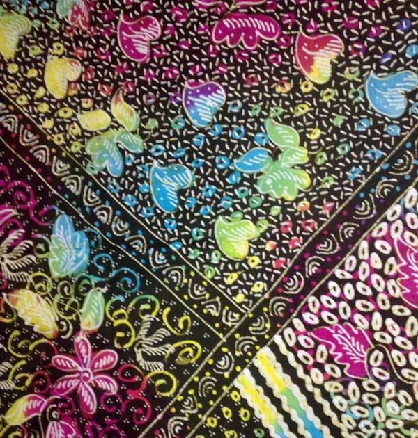 Harga Batik Tulis Asli: Kain Batik Madura: Batik Tulis Pelangi