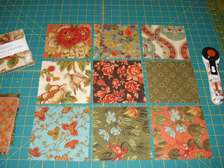 Snippets Of A Quilter Charm Square Quilt