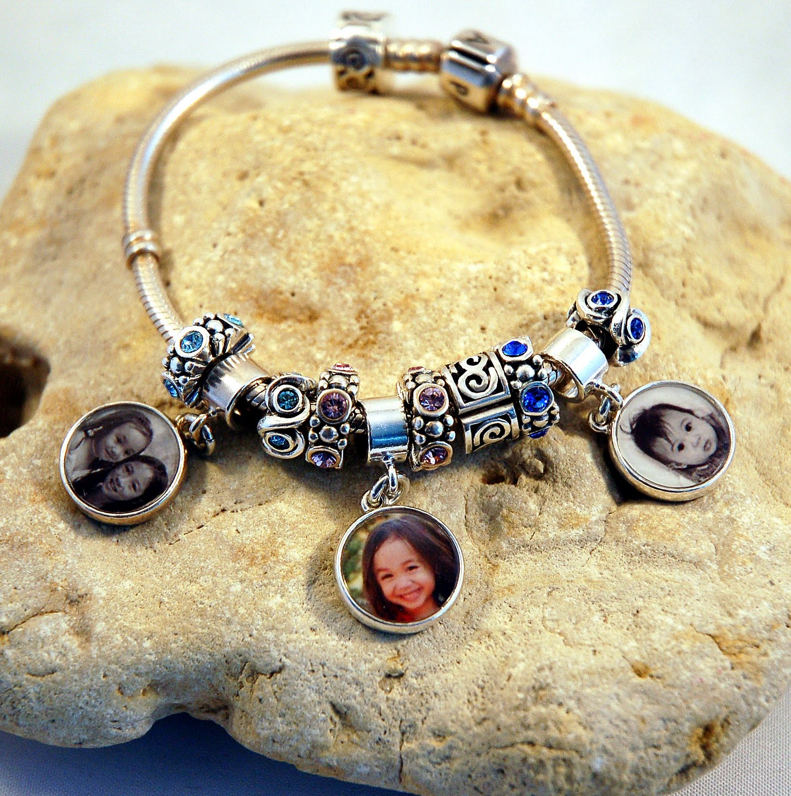 Charms For Bracelets Pandora: Photo Jewelry By Aileen: Custom Photo
