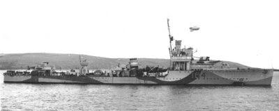 HMS Vansittart (D-64)