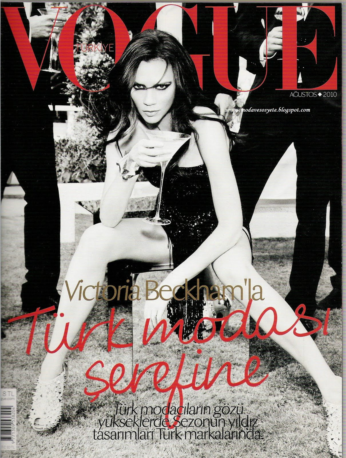 Victoria Beckham-Vogue Turkey August 2010